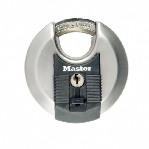 Master Lock M40EURD Excell Stainless Steel Discus 70mm Padlock